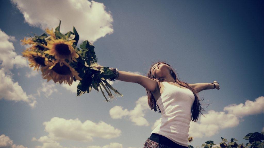 Картинки про счастливых женщин   подборка фото 007