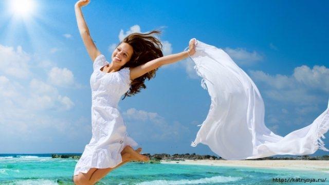Картинки про счастливых женщин   подборка фото 025