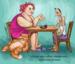 Картинки про худых девушек   прикольные 028