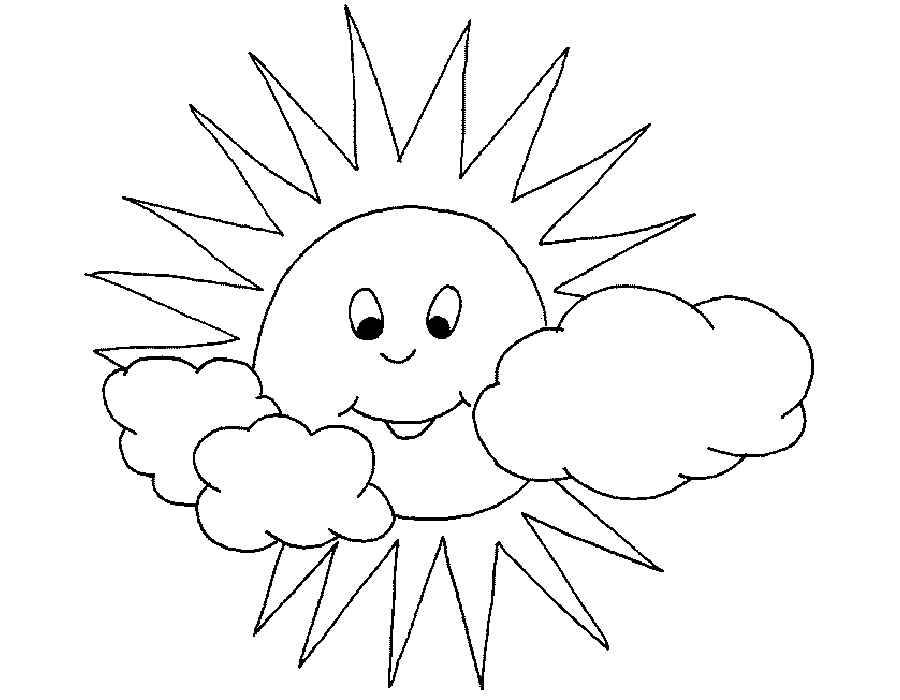 шаблон картинок солнышко