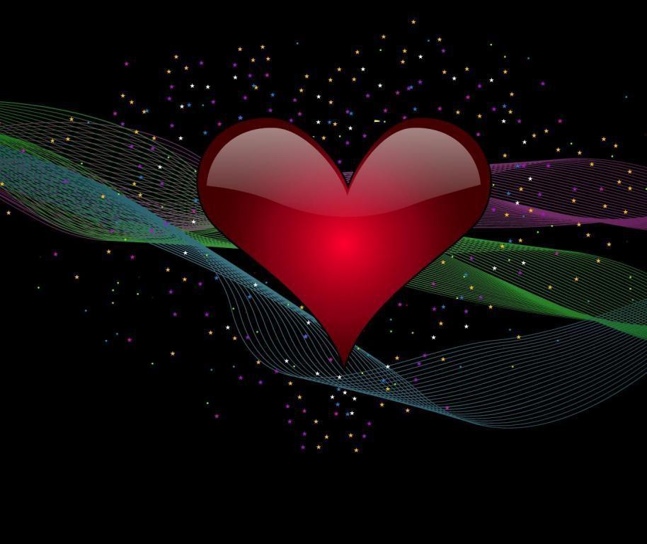 Юбилеем, анимация картинка сердечки