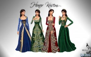 Картинки скачать красивые платья021