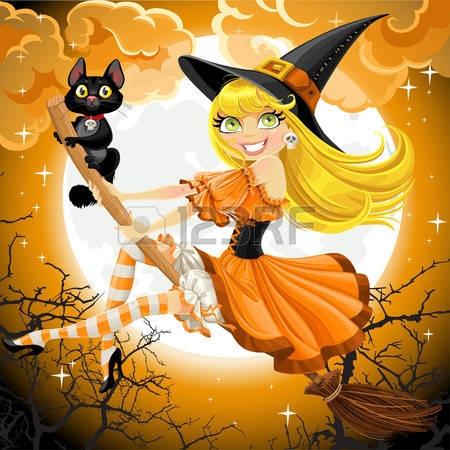 Картинки смешные про ведьму   очень веселые 026