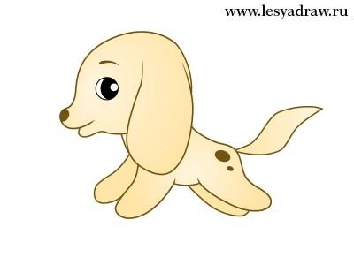 Картинки собака для детей нарисованные   картинки (1)