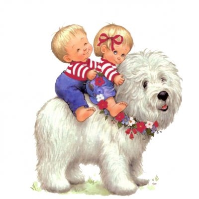Картинки собака для детей нарисованные   картинки (10)