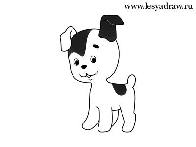 Картинки собака для детей нарисованные   картинки (11)
