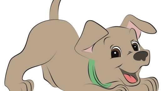 Картинки собака для детей нарисованные   картинки (12)