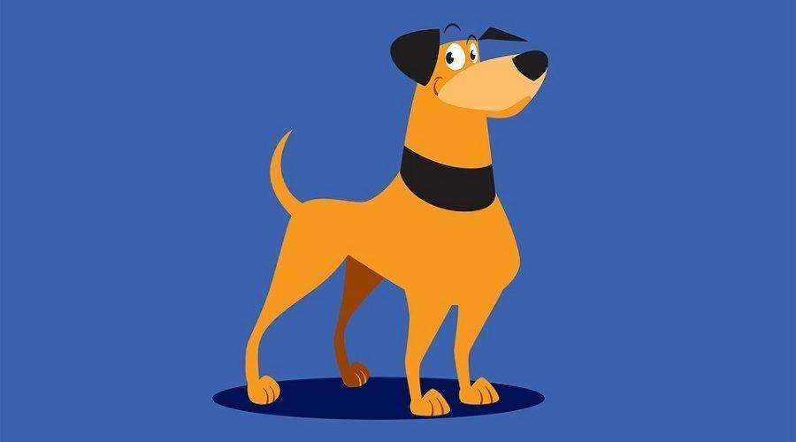 Картинки собака для детей нарисованные   картинки (20)