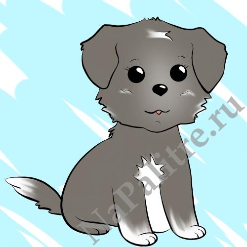 Картинки собака для детей нарисованные   картинки (27)