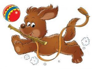 Картинки собака для детей нарисованные   картинки (28)