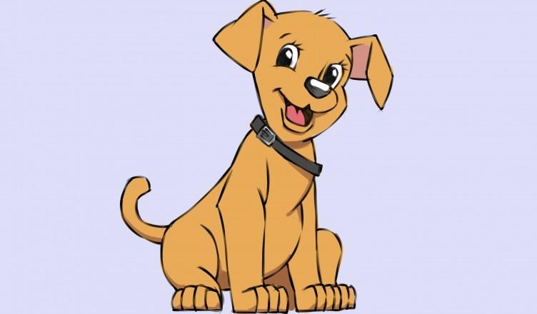 Картинки собака для детей нарисованные   картинки (4)