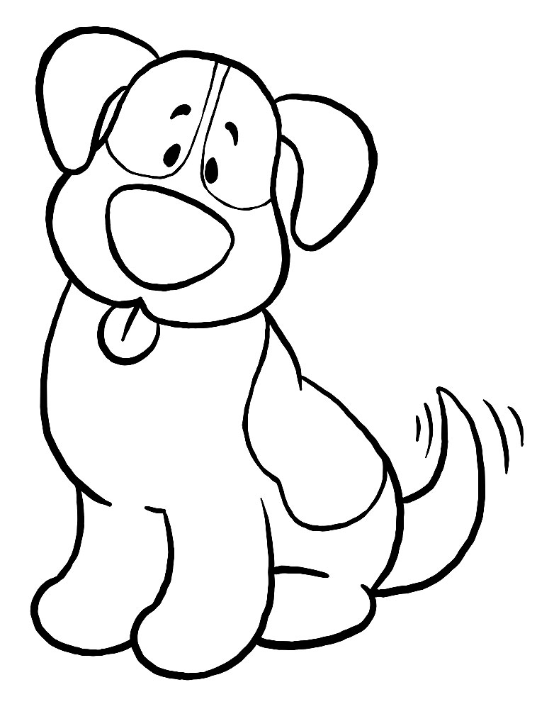 Картинки собаки черно белые картинки и фото013