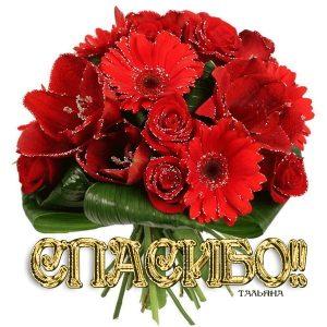Картинки спасибо за цветы   благодарности 022