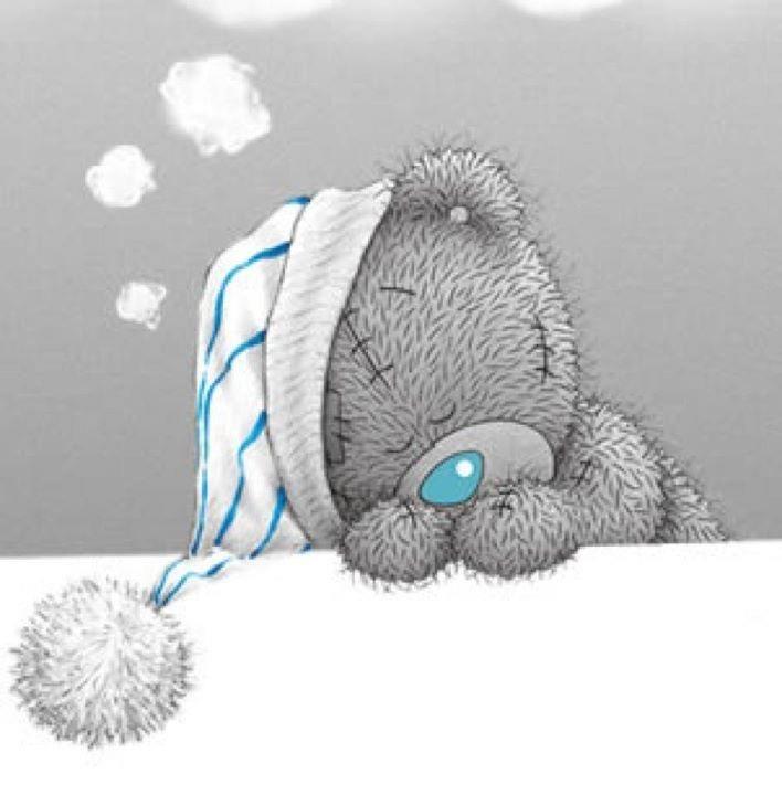 Картинки спокойной ночи мишка Тедди 001
