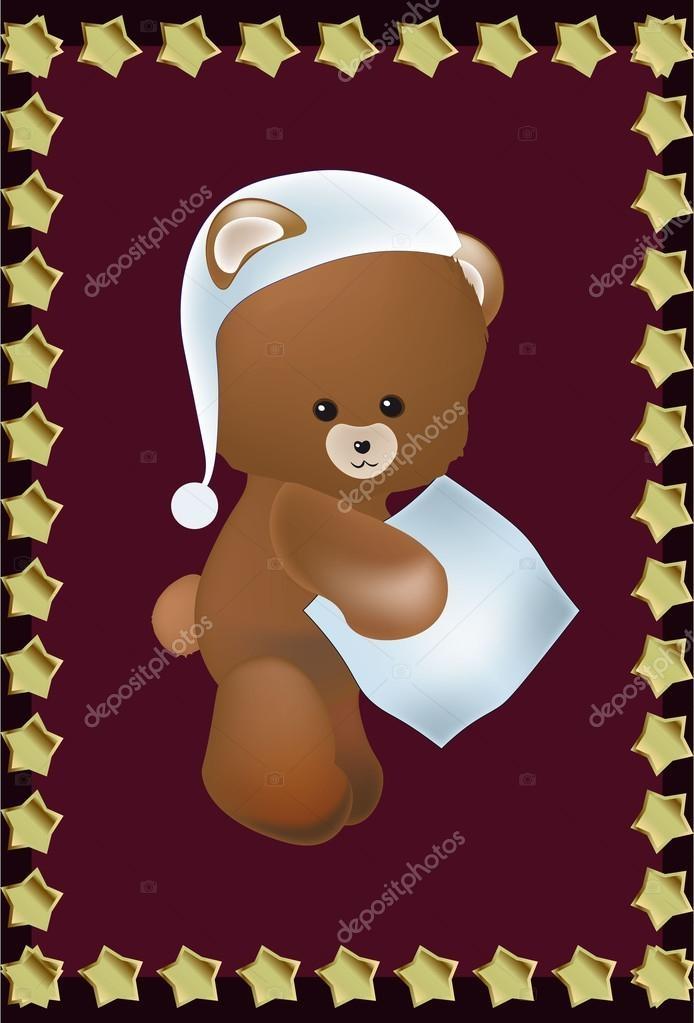 Картинки спокойной ночи мишка Тедди 002