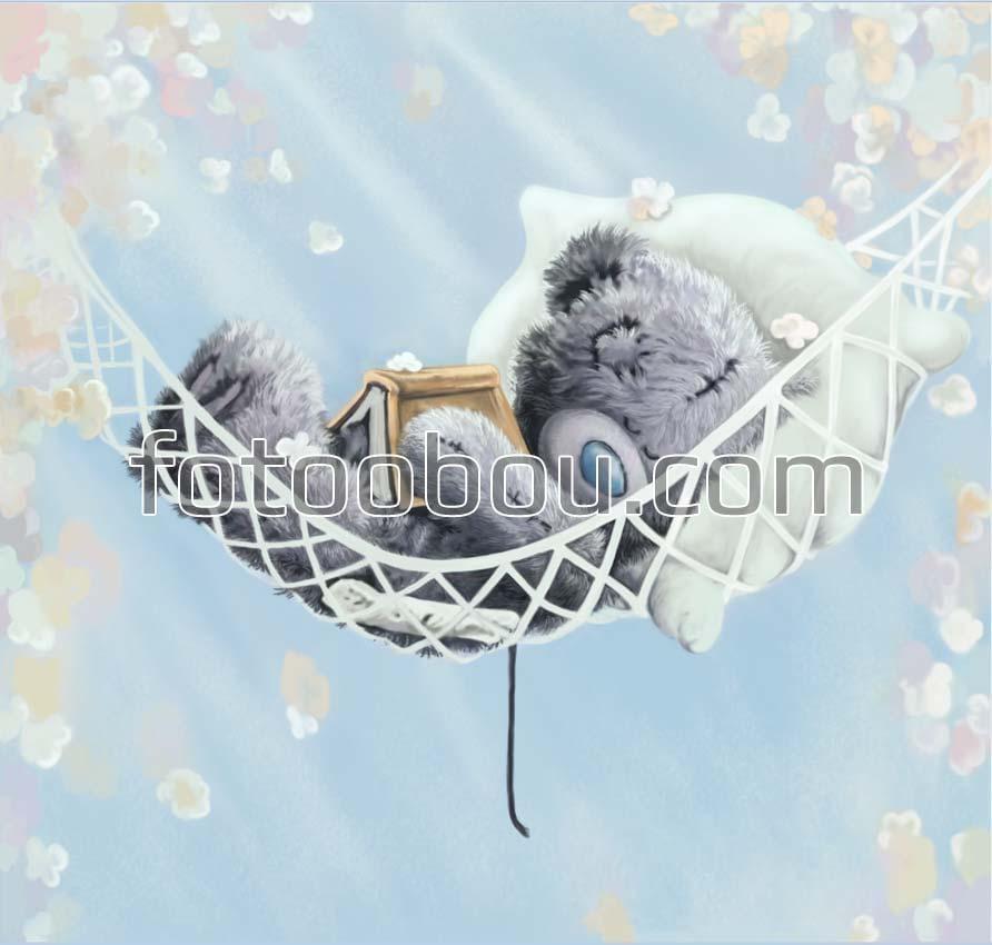 Картинки спокойной ночи мишка Тедди 006