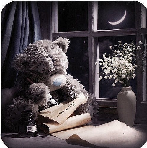 Картинки спокойной ночи мишка Тедди 019