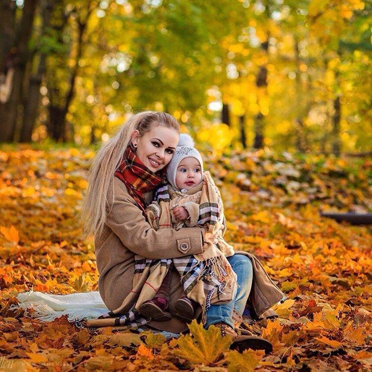 Картинки с детьми про осень 005