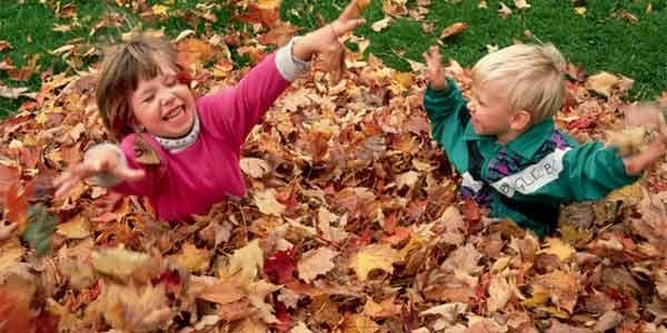Картинки с детьми про осень 011