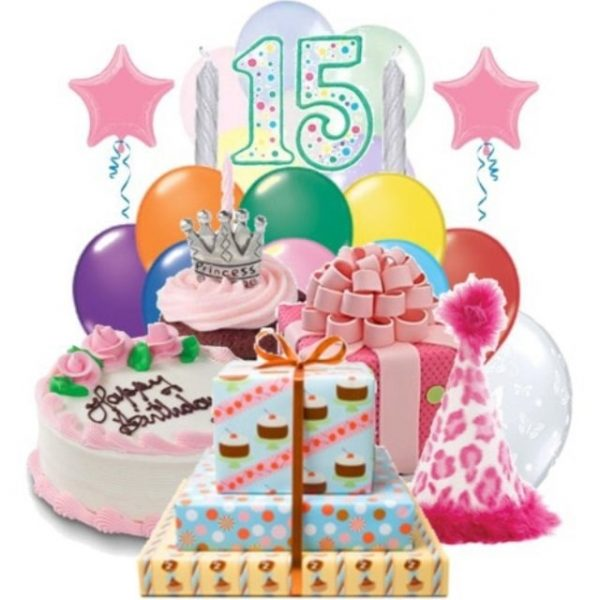 Поздравления с днем рождения девушке в 15 лет