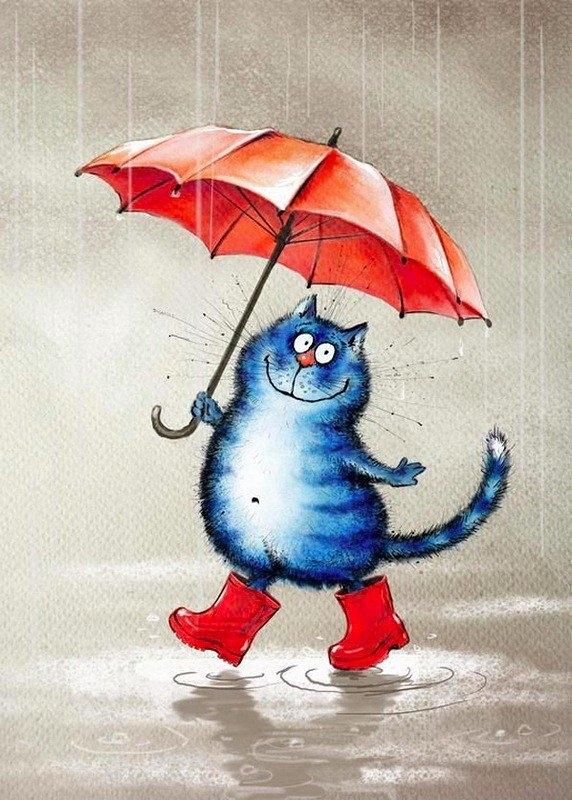 грустное дождливое утро картинки