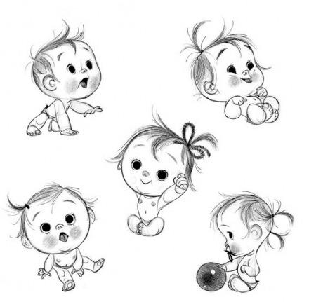 Картинки с животными для срисовки   лучшие рисунки007