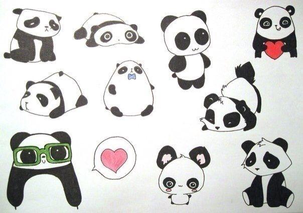 Картинки с животными для срисовки   лучшие рисунки010