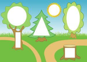 Картинки с изображением деревьев для детского сада (27)