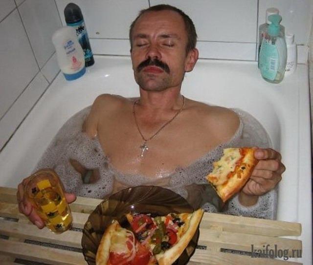 Картинки с пиццей смешные и веселые 005