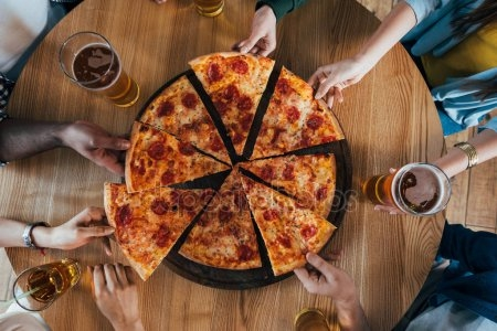 Картинки с пиццей смешные и веселые 011
