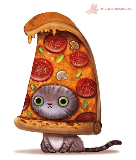 Картинки с пиццей смешные и веселые 016