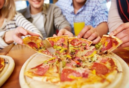 Картинки с пиццей смешные и веселые 024
