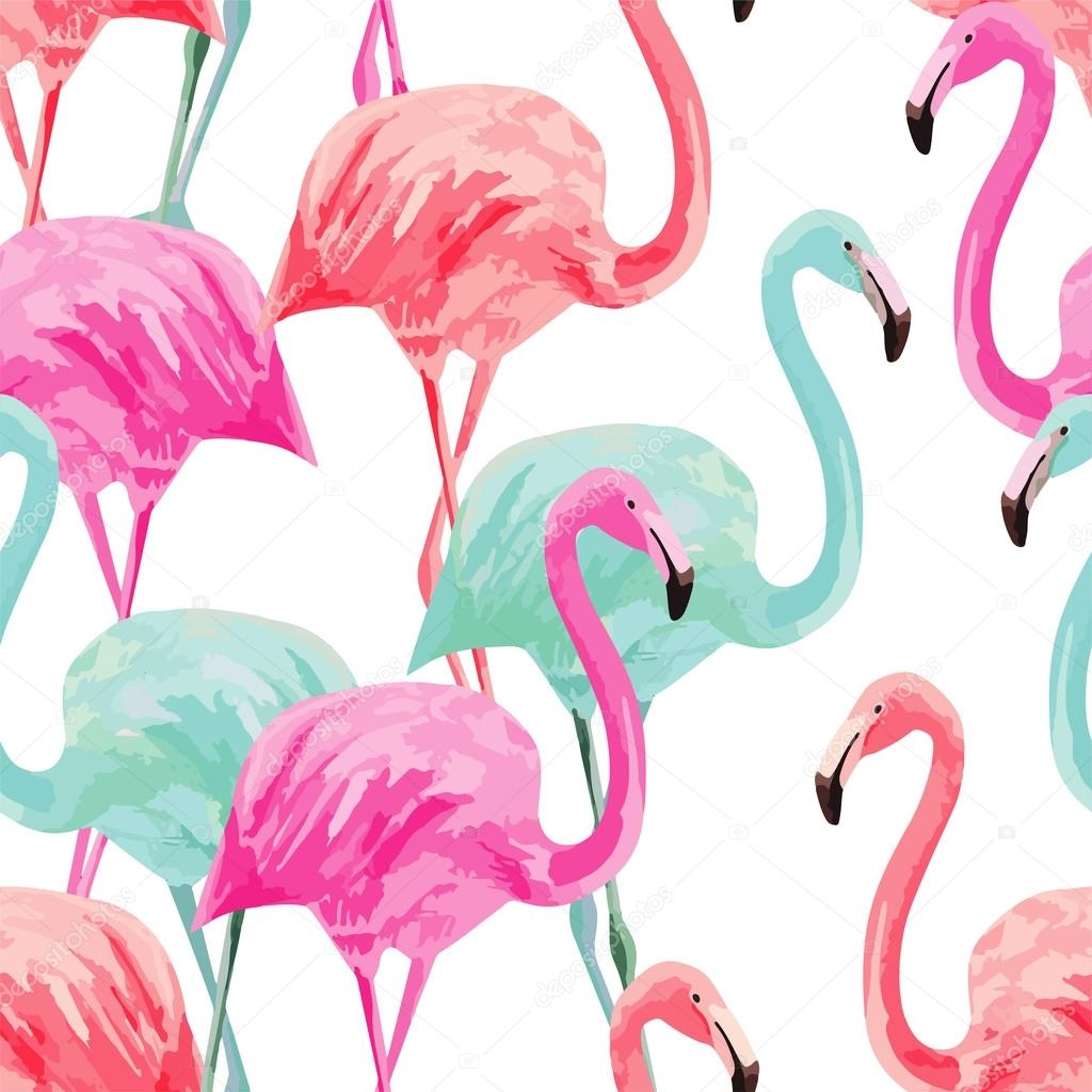 Картинки с фламинго на заставку   подборка (9)