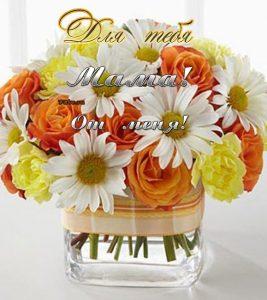 Картинки цветы фото для дочери 017