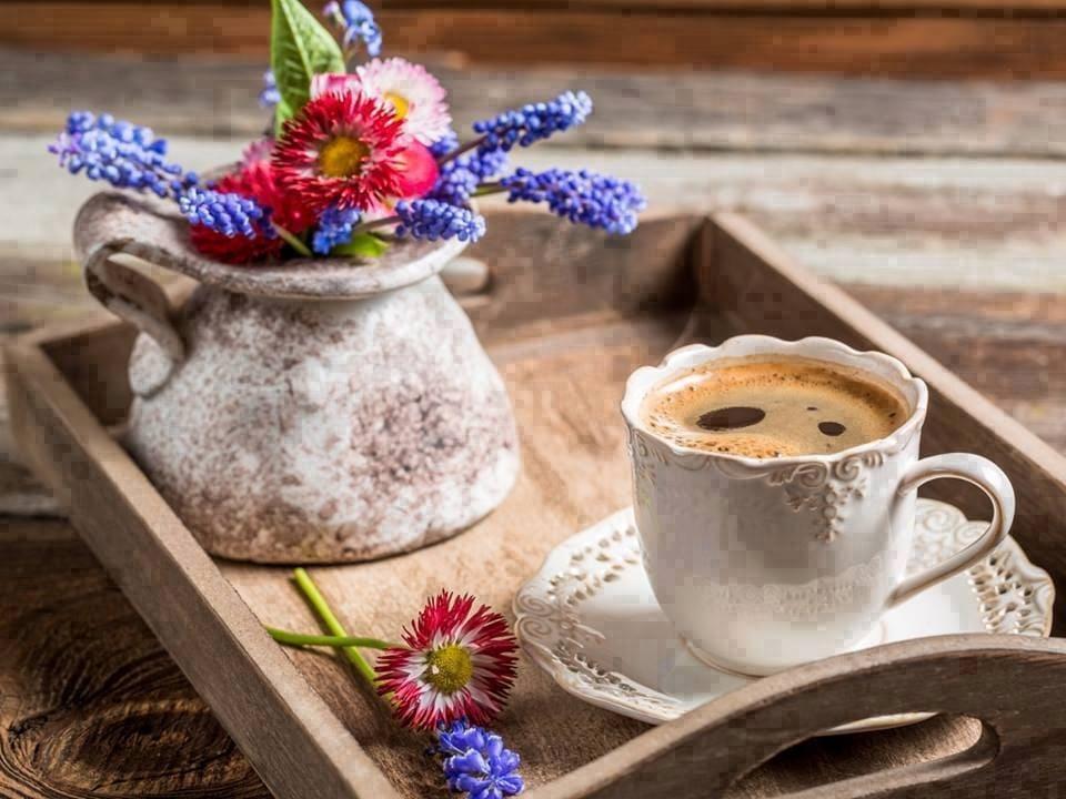 Картинки чай кофе доброе утро   подборка 011