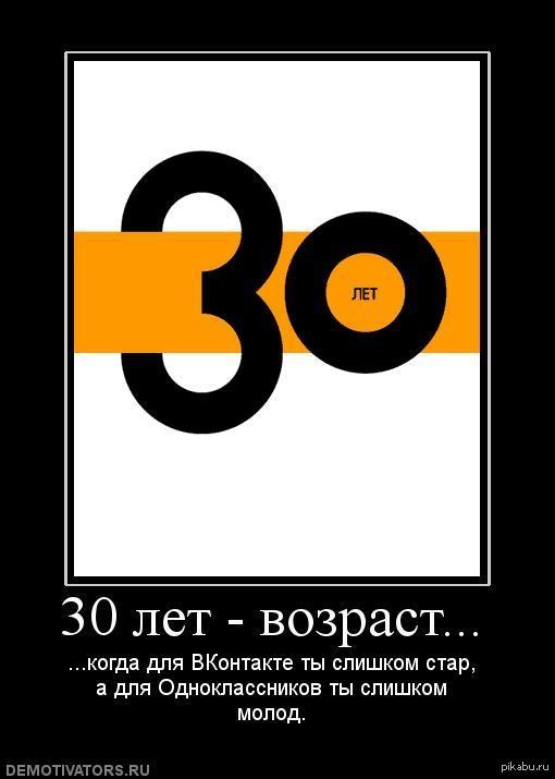 Приколы картинки на 30 лет