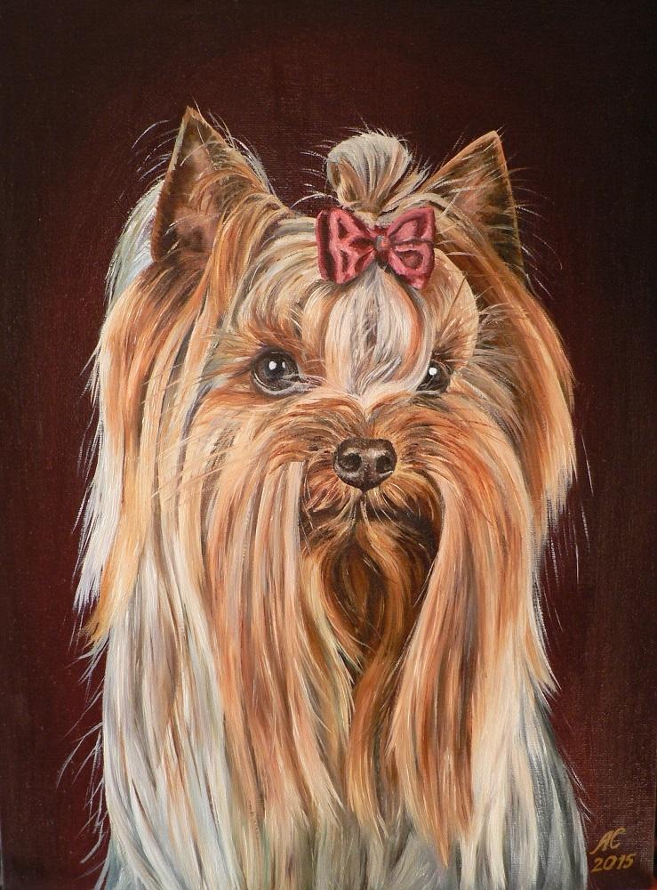 Картины с изображением собак   фото027