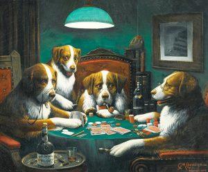 Картины с собаками фото и картинки026
