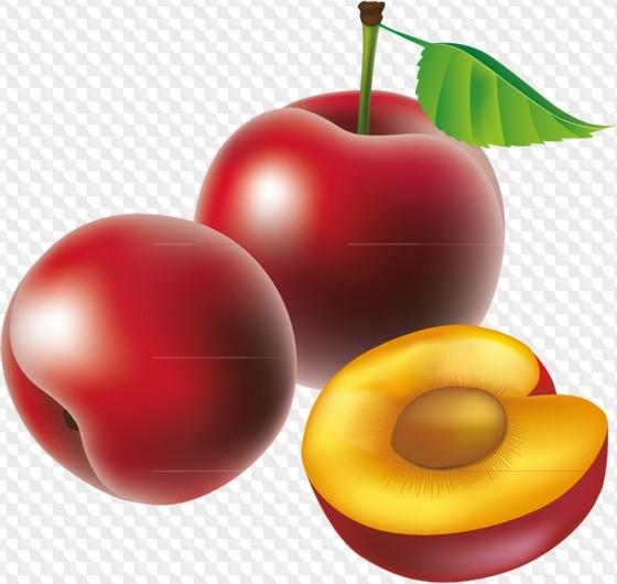 Клипарт на прозрачном фоне ягоды 017