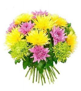 Композиции из хризантем фото цветов 025