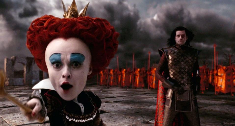 Королева из фильма Алиса в стране чудес   картинки (7)