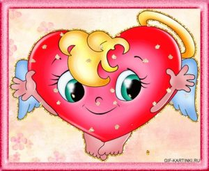 Красивое сердце с надписями картинки 021