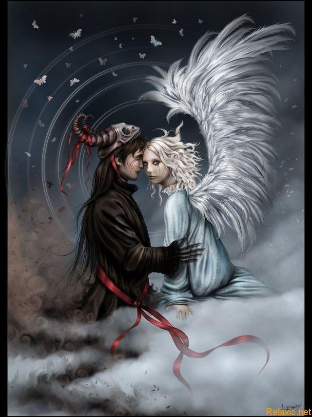 Поздравлением новоселье, картинки демонов и ангелов