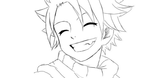 Красивые арты аниме для срисовки 005