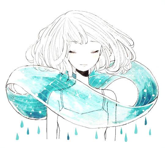 Красивые арты аниме для срисовки 006