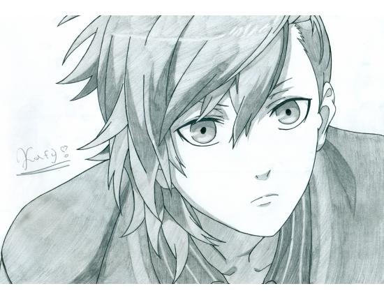 Красивые арты аниме для срисовки 012