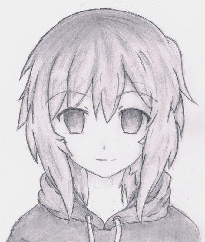 Красивые арты аниме для срисовки 018