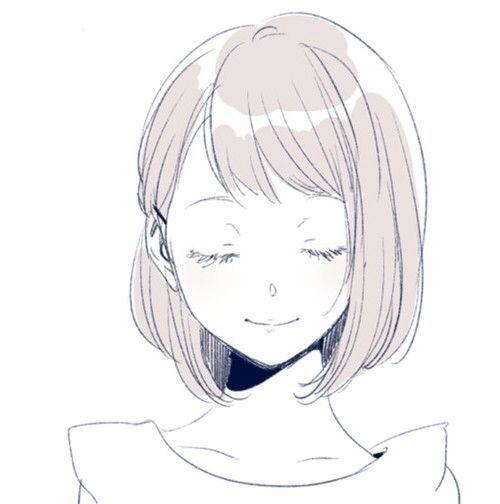 Красивые арты аниме для срисовки 024
