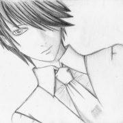 Красивые арты аниме для срисовки 029