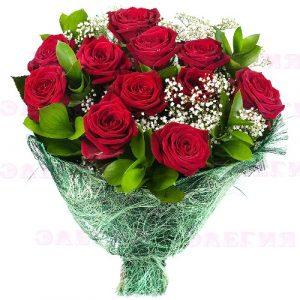 Красивые букеты из 3 роз фото 027